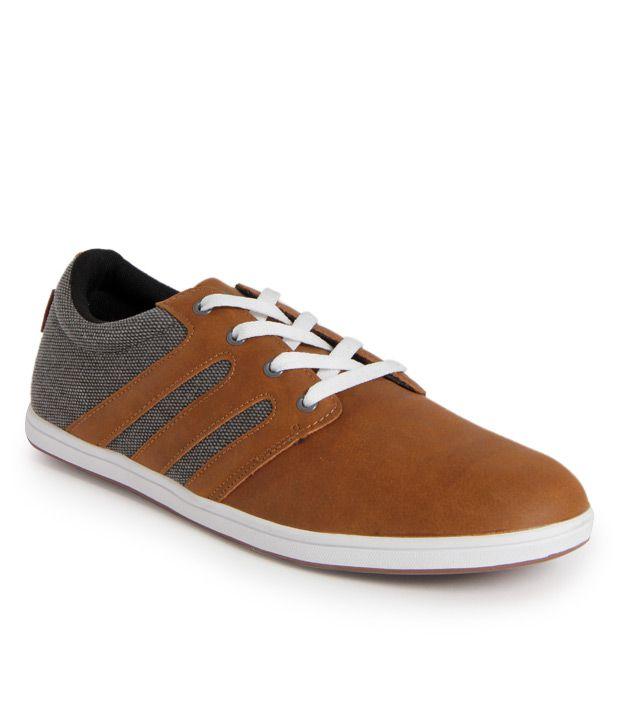 Fila Brown  & Gray Sneaker Shoes