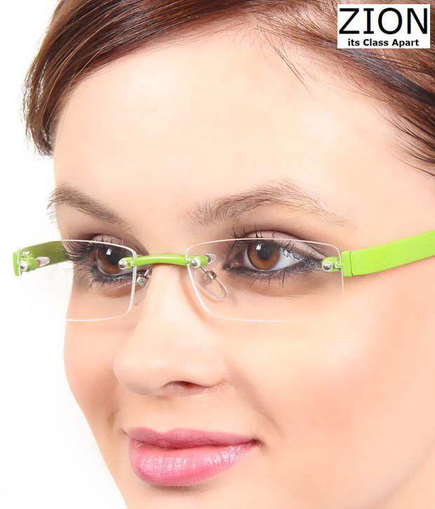 Zion Stylish Green Optical Frame