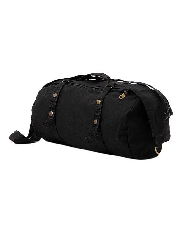WalletsnBags Attractive Black Travel Bag