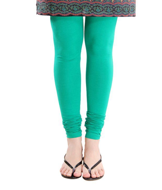 G Gorgeous Green Churidaar