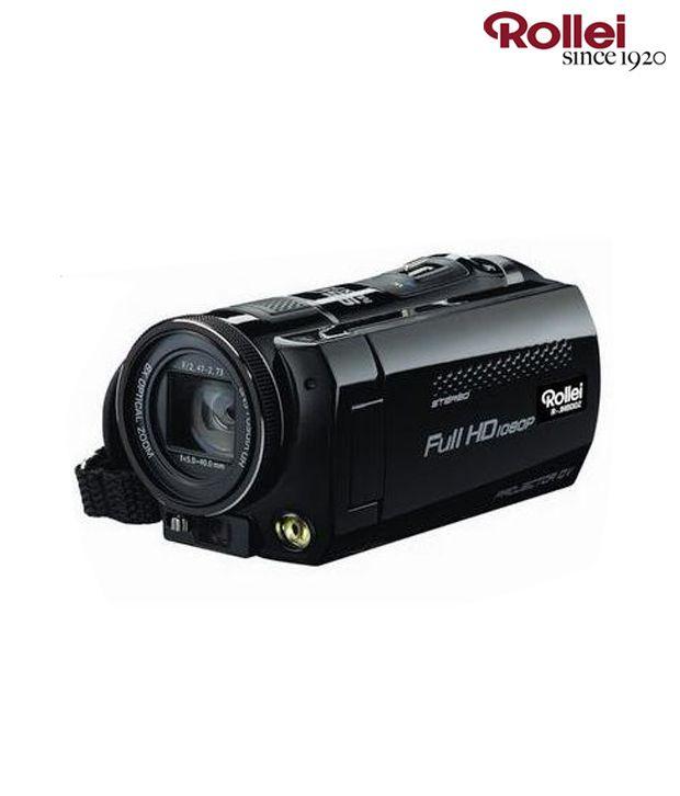 Rollei R-JH800Z Digital Video Camera (Black)