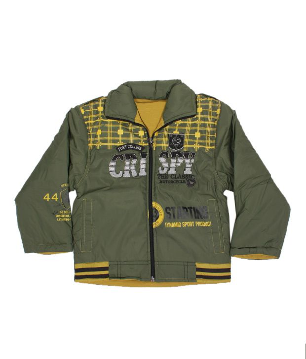 Fort Collins Classic Olive Green Jacket For Kids