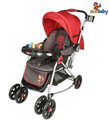 Sunbaby Alluring Red Circle Stroller