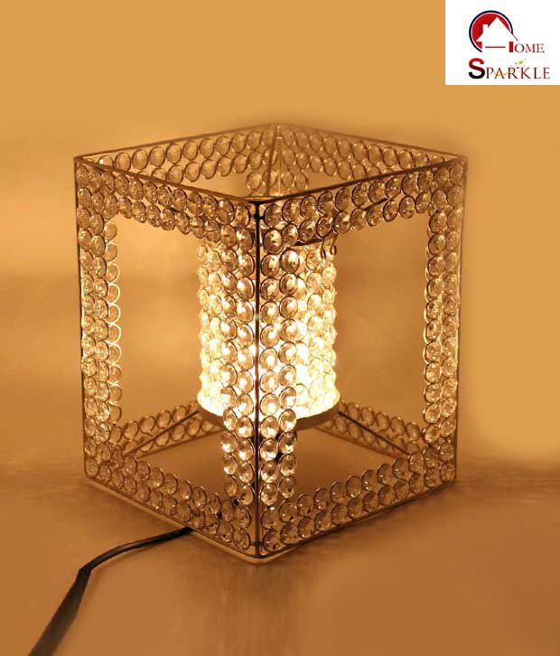 Home Sparkle Crystal Electric Lamp