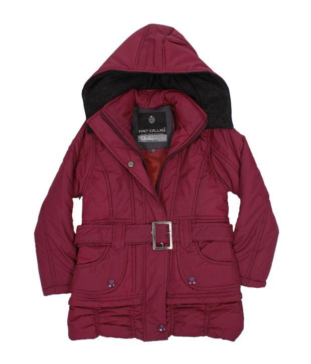 Fort Collins Purple Fur Hood Jacket