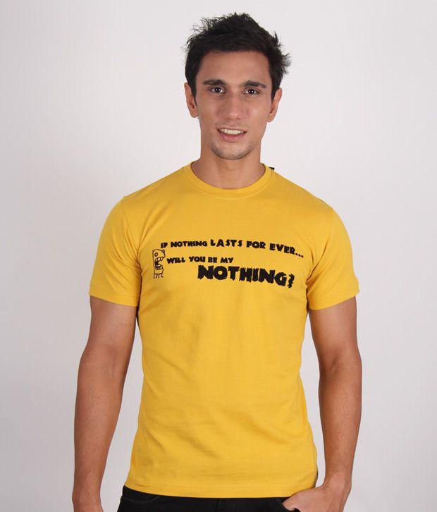Alano Classic Yellow T-Shirt