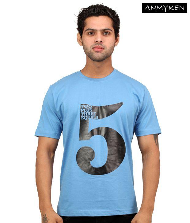 Johney B High Five Sky Blue T Shirt