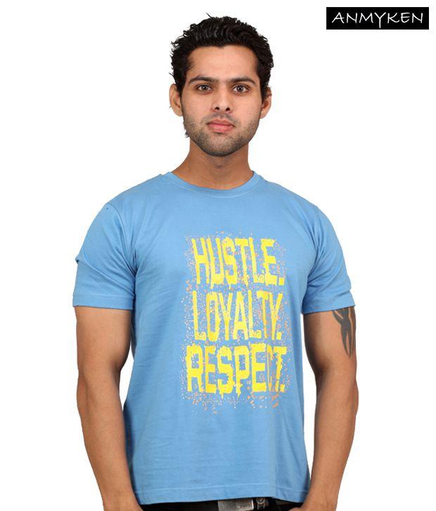 Johney B Haluc3Nation Sky Blue T Shirt