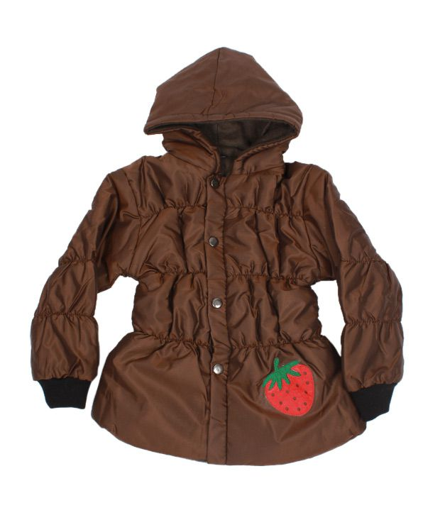 Fort Collins Coffee Brown Hoodie Jacket For Kids