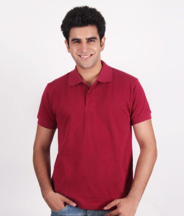 Kera Classic Maroon Polo T-Shirt