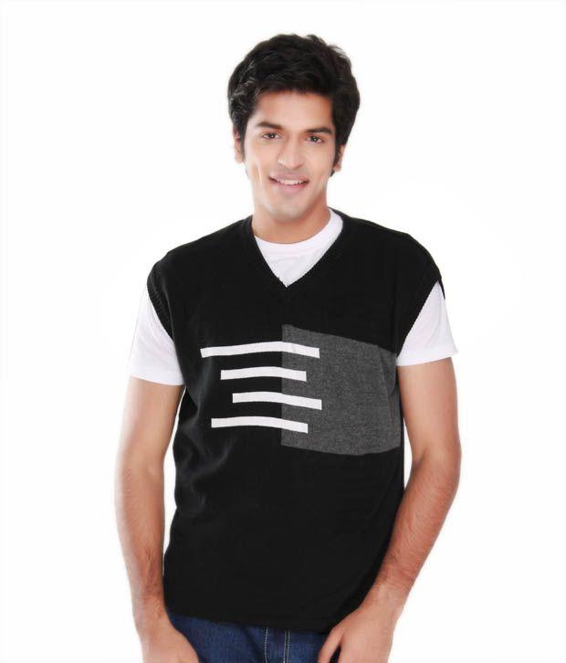 Cam-X Black-Grey Sweater