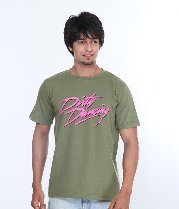 Casual Tees Dirty Dancing Green T Shirt