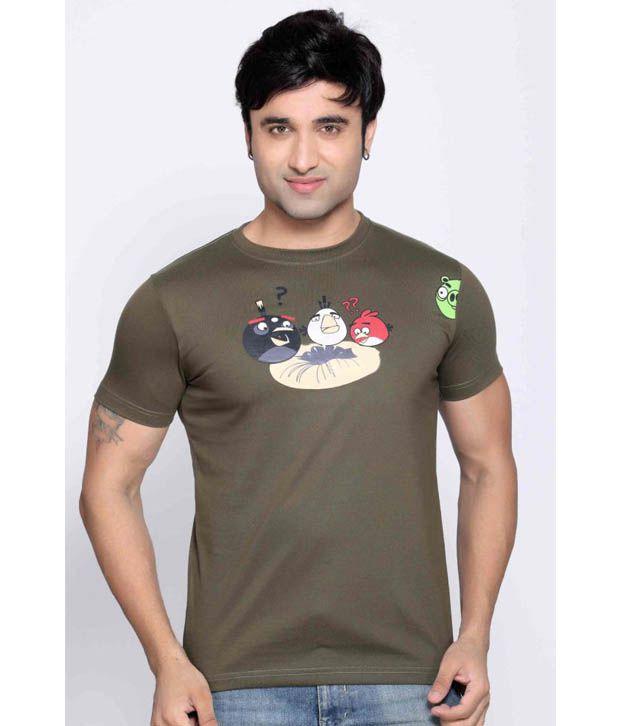 Locomotive Olive T Shirt
