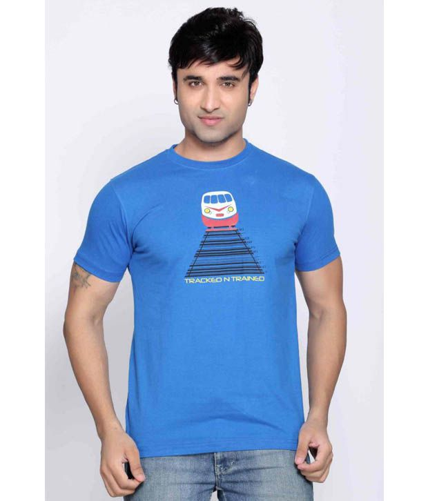 Locomotive Mid Blue T Shirt