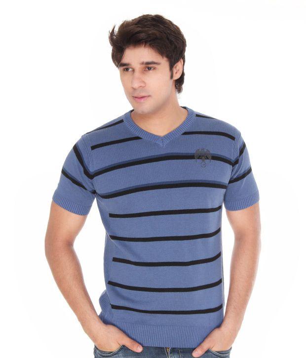 Riverstone Blue-Black T-Shirt