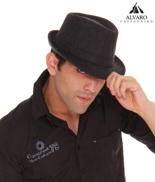 Alvaro Funky Grey Retro Style Hat