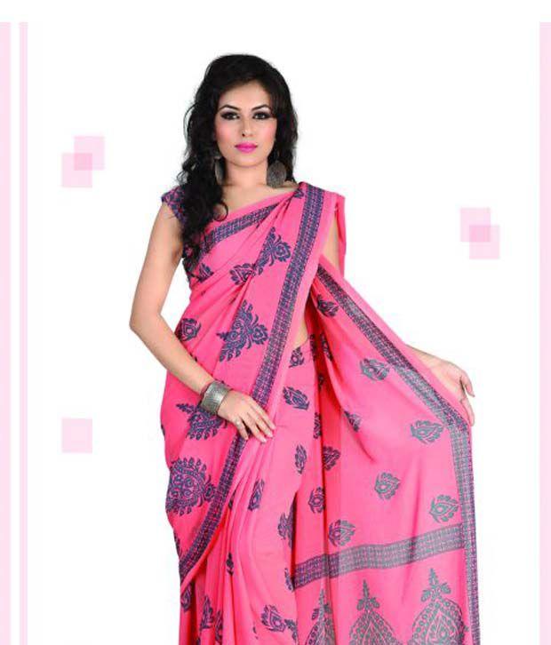 Vaishali Multicoloured Chiffon Saree