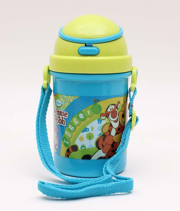 Pooh Blue-Green Classic Sipper Bottle