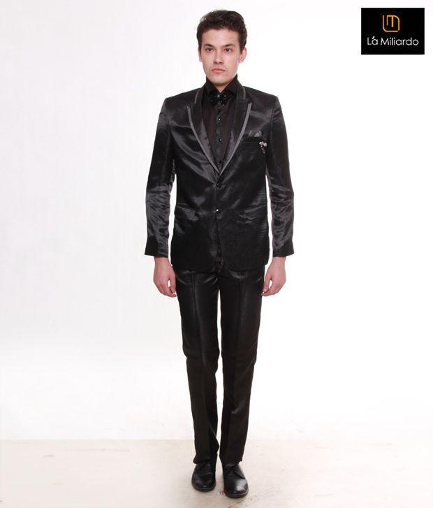 La Miliardo Glamour Black Suit