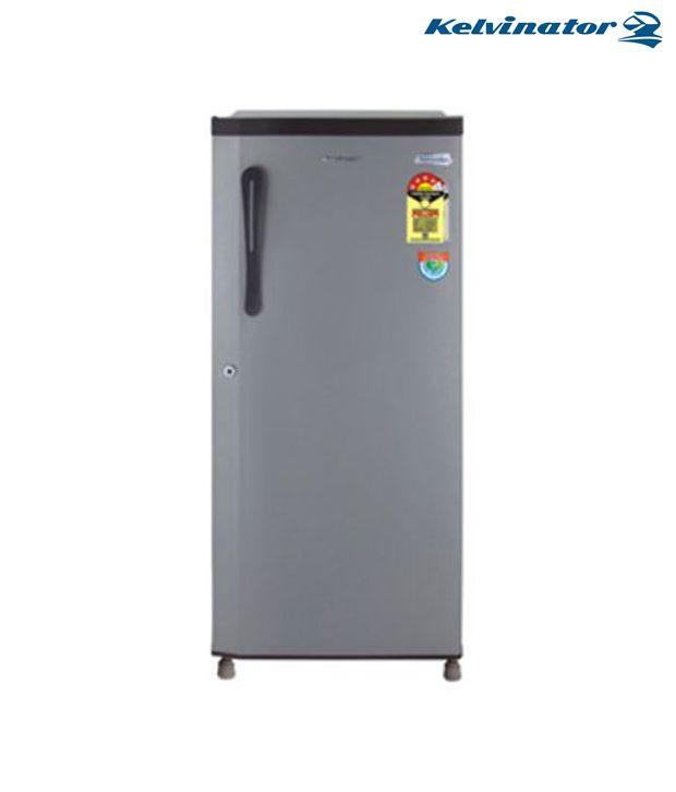 Kelvinator Kse 204 Single Door 190ltr Refrigerator Silver