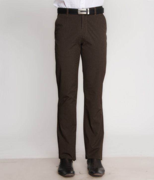 Bombay High Stylish Brown Trouser