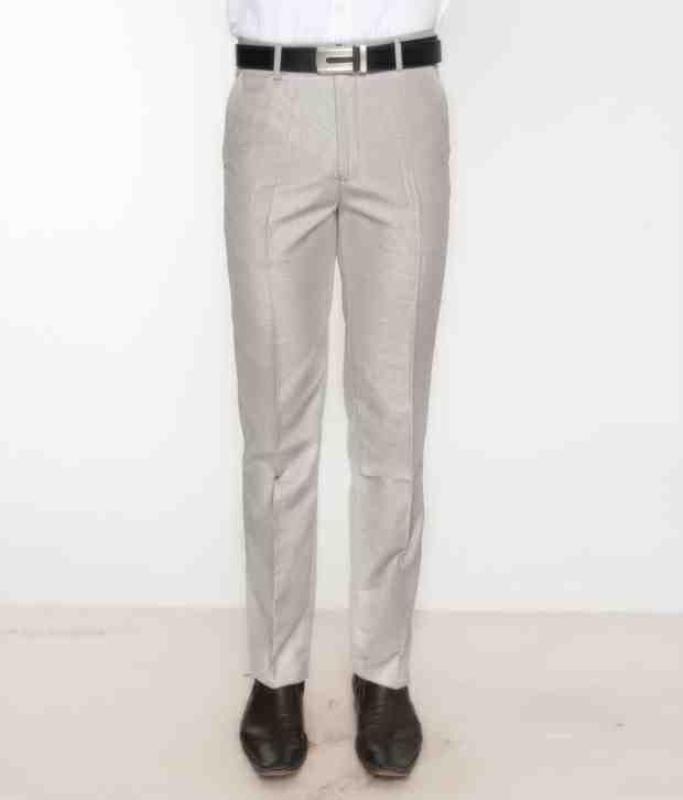 Bombay High Light Grey Trouser