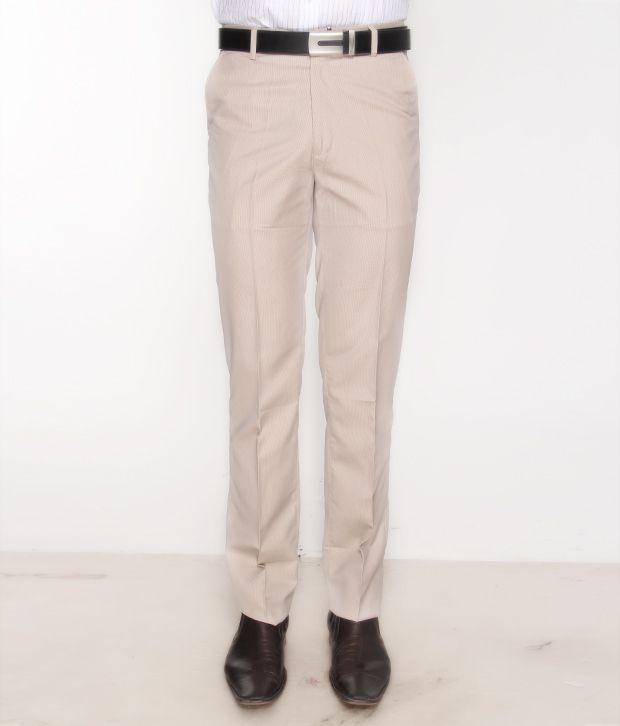 Bombay High Elegant Beige Trouser