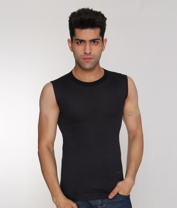 Nitex Dark Grey Under T-Shirt Combo of 4  available at snapdeal for Rs.304