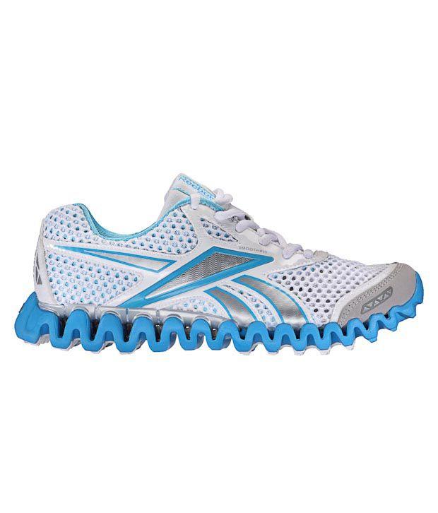 3657e377ee9 Reebok Premier Zig Fly Nano Silver   Blue Running Shoes Price in ...