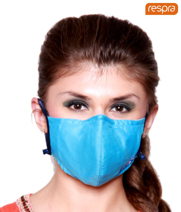Respra - Anti Pollution Mask - Light Blue (Pack of 2)