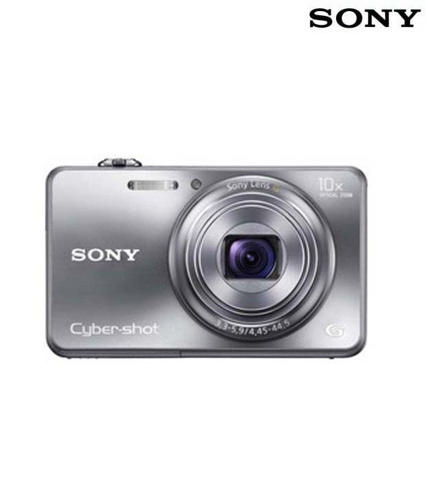 Sony Cybershot WX150 18.2MP Digital Camera (Silver)