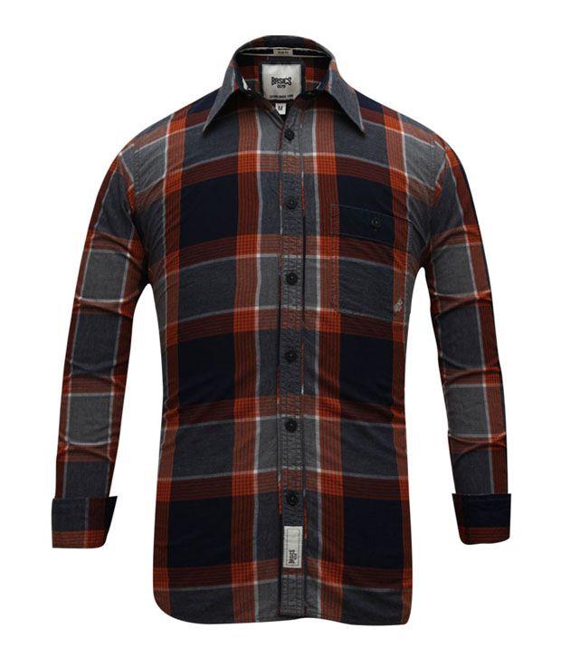 Basics 029 Ultra Red-Navy Shirt