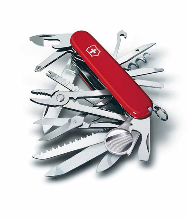 Victorinox Swiss Champ Red Quot Swiss Army Knife Quot 1 6795