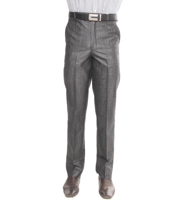 Viggo Grey Linen Trouser