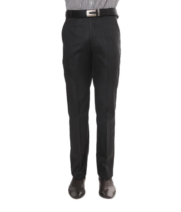 Viggo Black Trouser