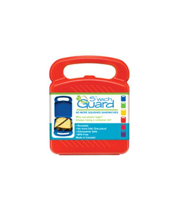 Primeway Silo Lunch Box-Sandwich Guard-Red