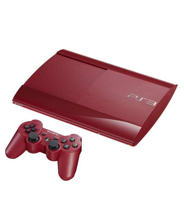 Sony Playstation 3 (500GB) (Red)