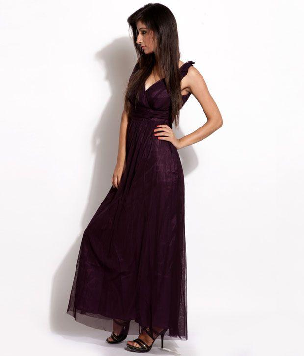 Debenhams Wonderful Wine Dress