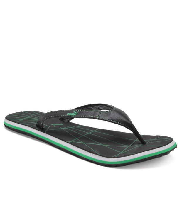 28bc0ae9840 Puma Webster Black Slippers Price in India- Buy Puma Webster Black Slippers  Online at Snapdeal