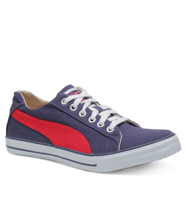 Puma Hip Hop Blue   Red Sneakers - Buy Puma Hip Hop Blue   Red Sneakers  Online at Best Prices in India on Snapdeal 4f4f67823