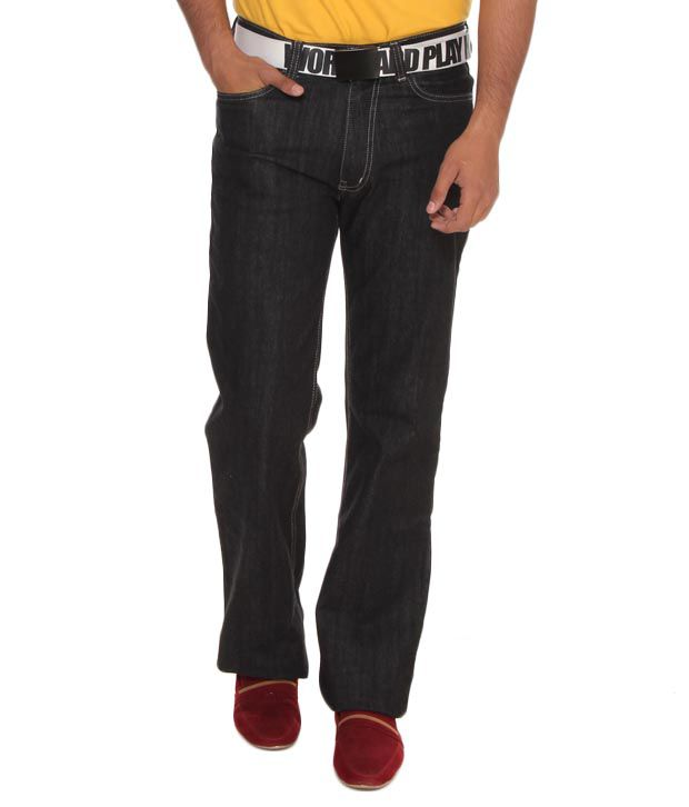 Lee Cooper Originals Black Jeans