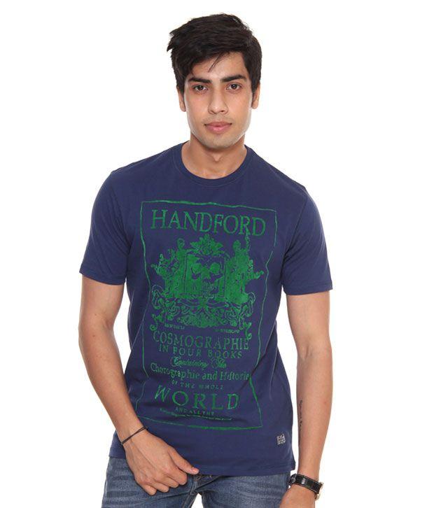Raves Navy Blue T-Shirt