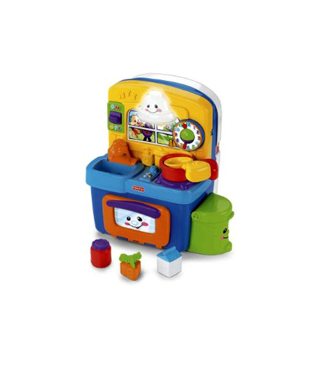 Fisher Price Learning Kitchen: Fisher-Price Laugh & Learn Learning Kitchen(Imported Toys