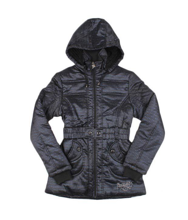 Fort Collins Blue & Black Jacket For Kids