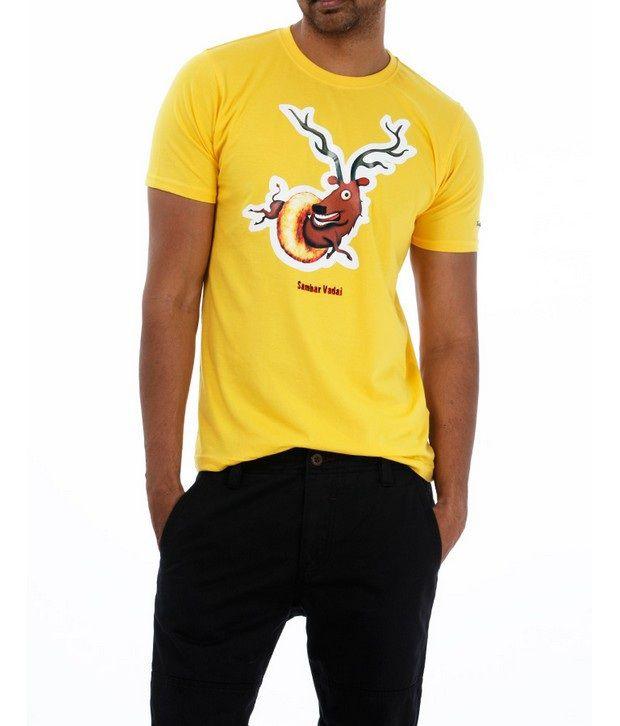 Basics 029 Yellow T-Shirts