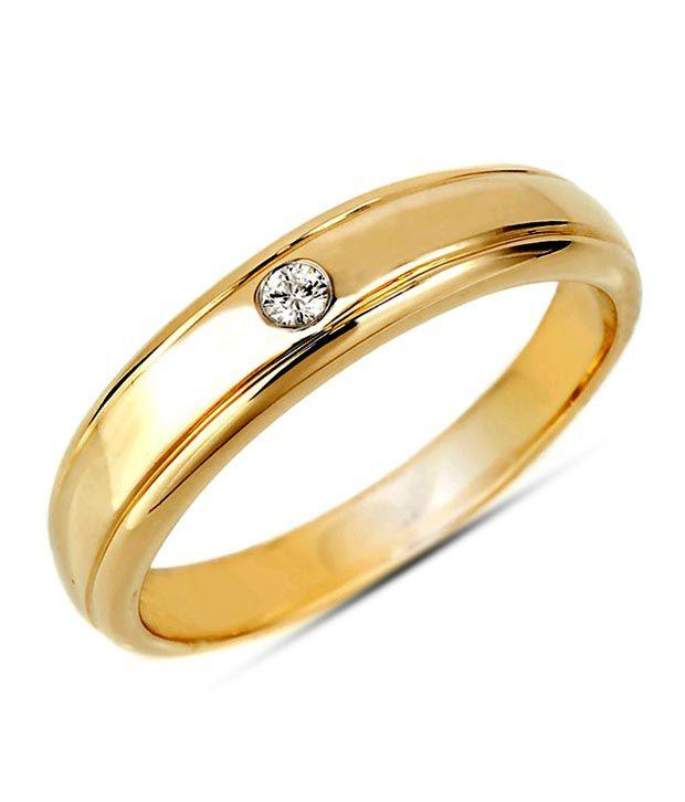 Sanskruti Sanskruti Sterling Silver Diamond Band Ring
