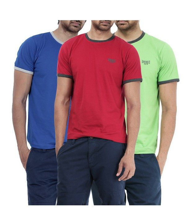 Basics 029 Red T-Shirts