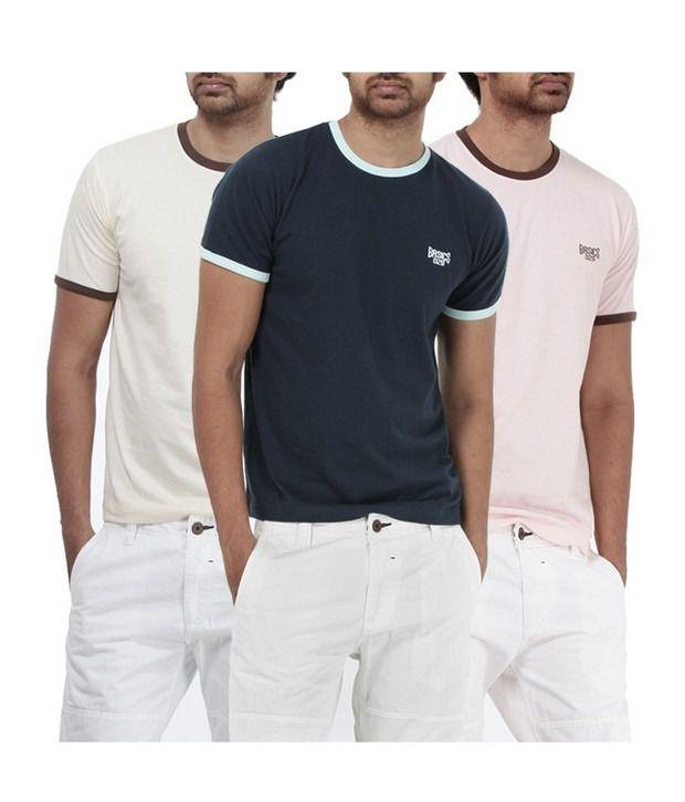 Basics 029 Pink T-Shirts