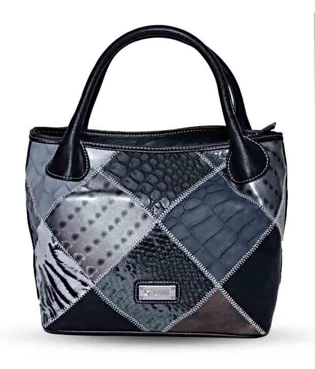 Lavie Paris - Black & Grey Handbag