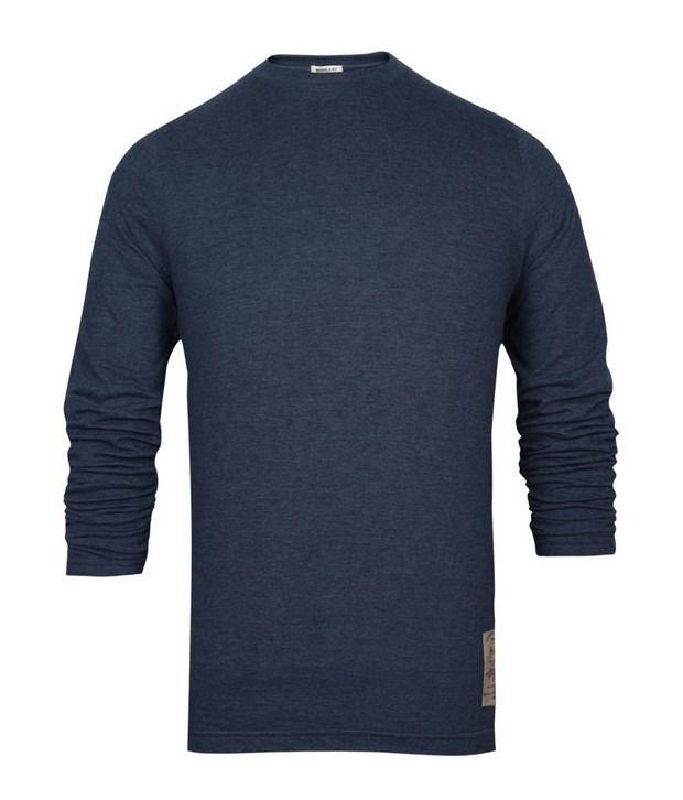 Basics 029 Blue T-Shirts